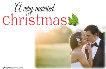 married-christmas-card